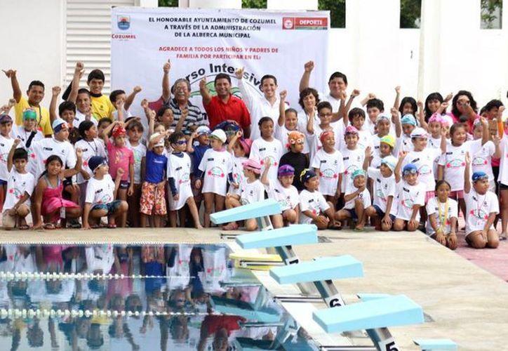 Alrededor de 150 niños y jóvenes participarán en el curso. (Cortesía/SIPSE)