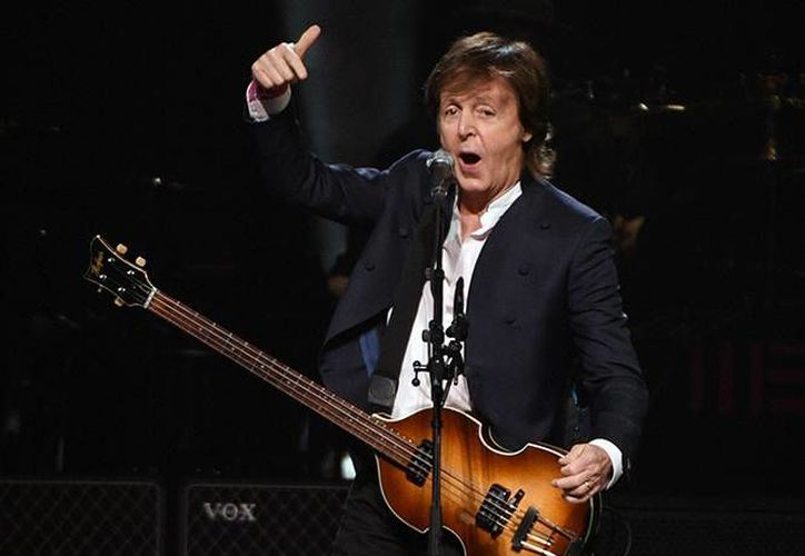 Paul McCartney se presentará en Argentina el próximo 15, 17 y 19 de mayo como parte de su gira 'One on One tour'. (Archivo AP)