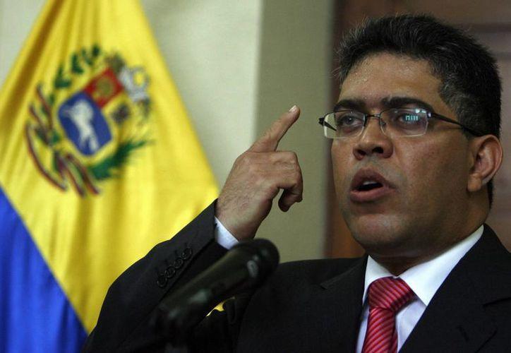 El canciller venezolano, Elías Jaua, en imagen de archivo. (EFE)