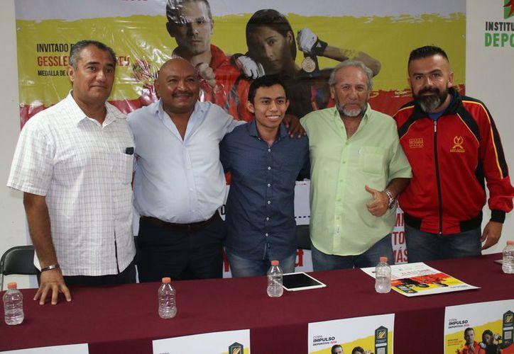 El evento deportivo fue presentado durante una conferencia de prensa. (Raúl Caballero/SIPSE)