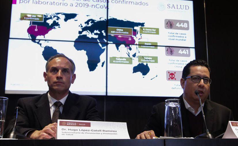 El subsecretario de Salud afirmó que el coronavirus llegará a México. (Foto: Archivo Notimex).