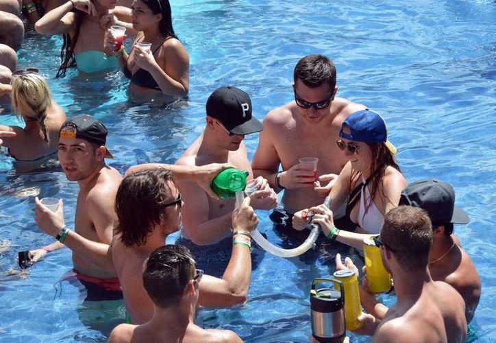 Los destinos turísticos de Quintana Roo se mantienen fuera de la alerta de viaje emitida por Estados Unidos con motivo de la temporada de Spring break.  (Cuartoscuro)