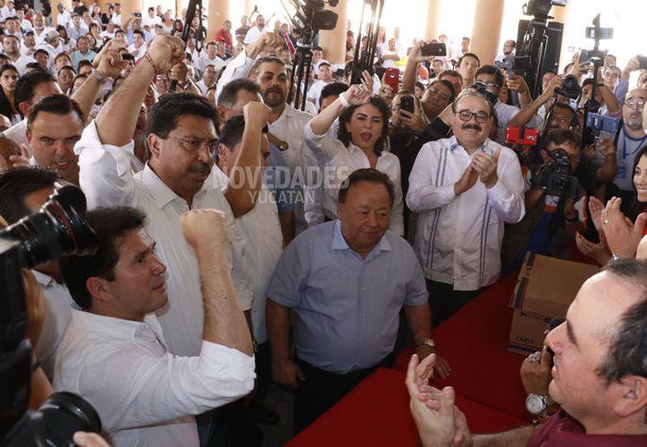 El nuevo Consejo Político del PRI será quien designará el método para la renovación de la próxima dirigencia en Yucatán. (Fotos Pepe Acosta)