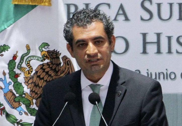 El titular de la CFE, Enrique Ochoa Reza, es el único que ha manifestado su interés en dirigir al PRI. (Archivo/Notimex)