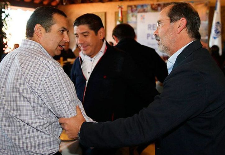 Los contendientes, Cordero (izq.) y Madero, están listos para la contienda de mañana. (excelsior.com.mx)