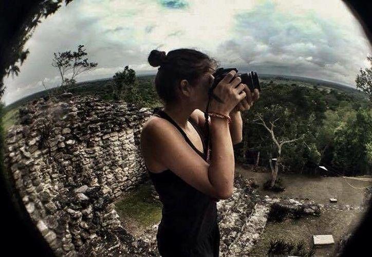 Ileana Guzmán Dávila y Francesca Franchini Maestri documentan sus viajes y los comparten en la web. (Cortesía)