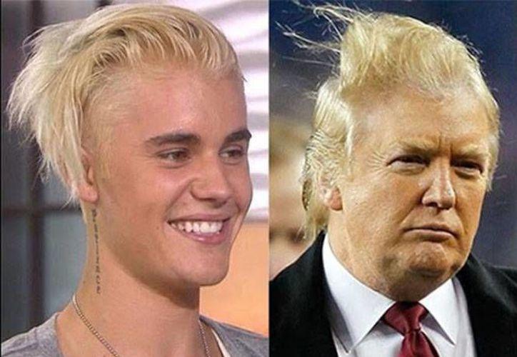 Justin Bieber le habría dicho 'no' a Donald Trump como uno más de los múltiples artistas que no apoyan al candidato republicano a la presidencia de EU. (Excelsior)