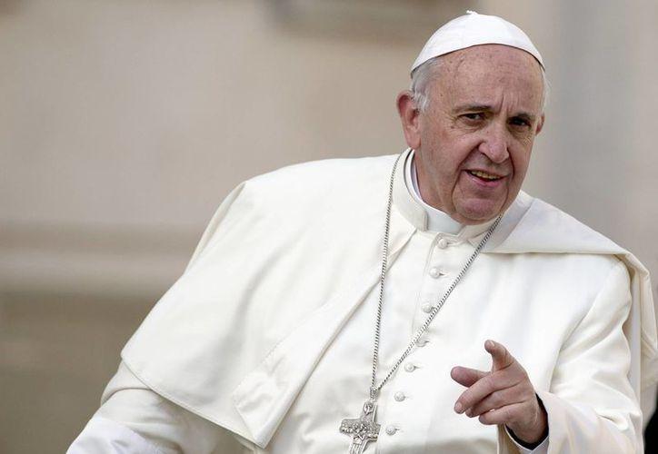 El Papa Francisco recordó que este día se celebra la Tercera Jornada Mundial del Deporte por la Paz y el Desarrollo, convocada por las Naciones Unidas. (Agencias)