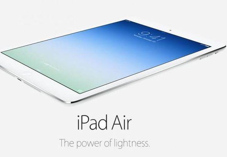 El Ipad Air 3 tendría una pantalla de 9.7 pulgadas, además de otras innovaciones en sonido. (Image de archivo/ titan.as)