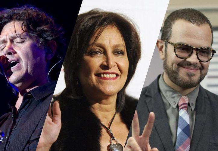 Hernández, Romo y Sintek recibirán el galardón el próximo 7 de mayo en una gala. (Imágenes: AP)