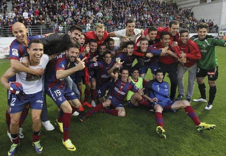 El club Eibar vive una primera campaña de ensueño en la máxima categoría del futbol español. (mundodeportivo.com/Foto de archivo)