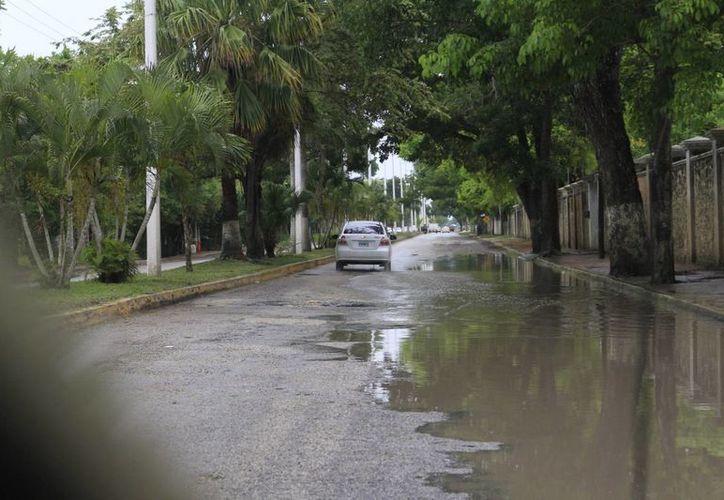 Las lluvias seguirán presentes para algunas zonas del estado. (Harold Alcocer/SIPSE)