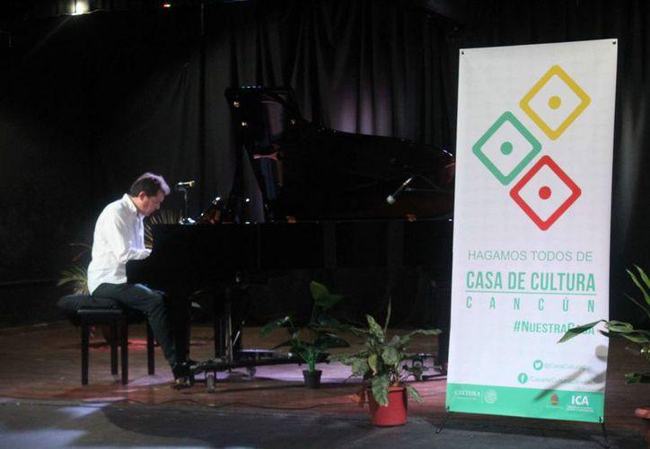 Los talleres serán impartidos por el maestro Ricardo Corona. (Faride Cetina/SIPSE)