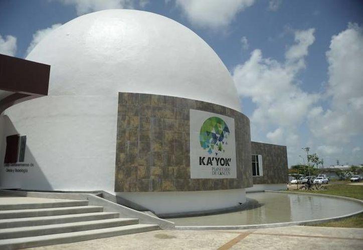 El planetario albergará una plática, una conferencia y un recital; los días 17, 20 y 25 respectivamente. (Redacción/SIPSE)