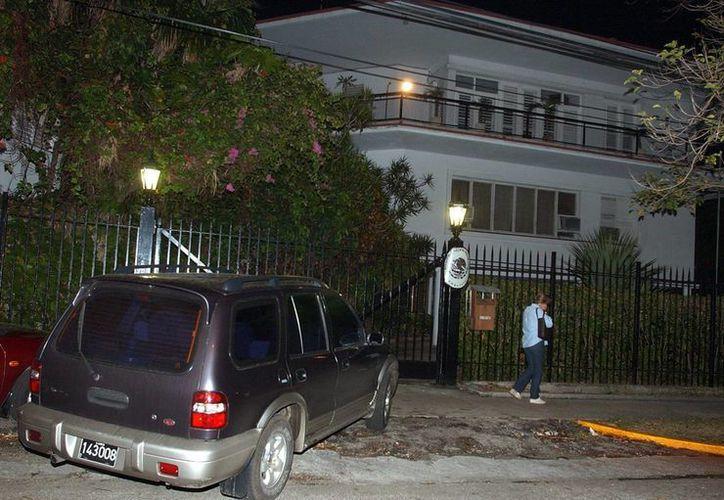 La embajada de México en Cuba (en la imagen) y ProMéxico acompañaron a la firma mexicana durante todo el proceso de negociación ente el gobierno cubano y Devox-General Paint. (Archivo/EFE)