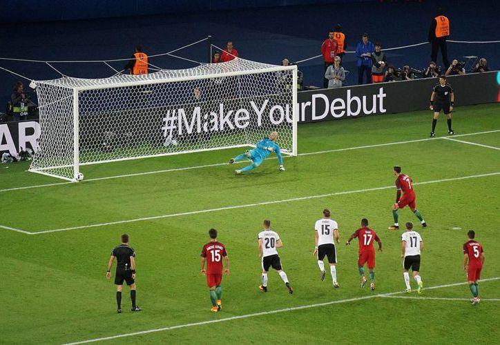 Partido entre las selecciones de Portugal y Austria, empataron 0-0, el 18 de junio de 2016, en el Estadio Parc des Princes de París, Francia. (Archivo/Notimex)