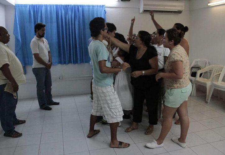 La Tribu de Judá es la encargada de dar por quinta ocasión vida al Viacrucis. (Tomás Álvarez/SIPSE)