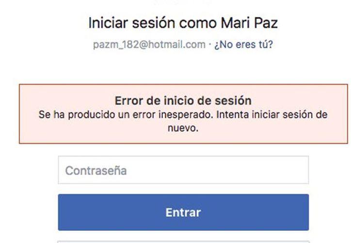 Como ha ocurrido en los últimos días los usuarios de Facebook utilizaron Twitter para burlarse de la falla en la red social. (Foto: El Heraldo)