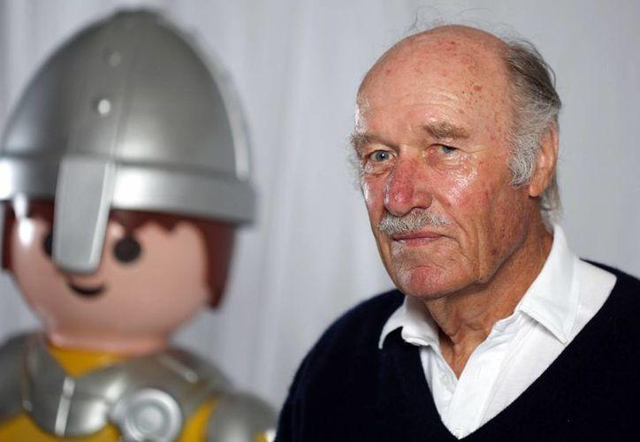 El fabricante de juguetes y creador de Playmobil, Horst Brandstätter, falleció a los 81 años. La foto corresponde a 2010. (leparisien.fr)