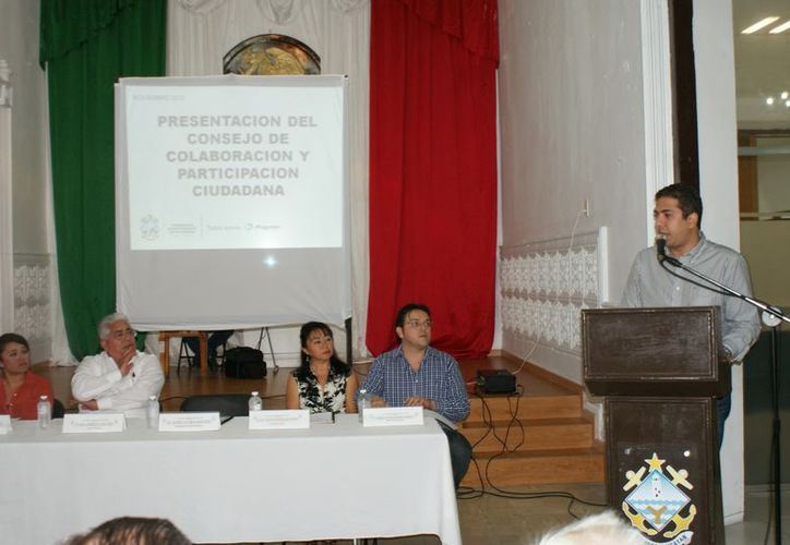 El Consejo de Colaboración y Participación Ciudadana conoció los resultados de la revisión hecha a las finanzas municipales. (Manuel Pool/SIPSE)