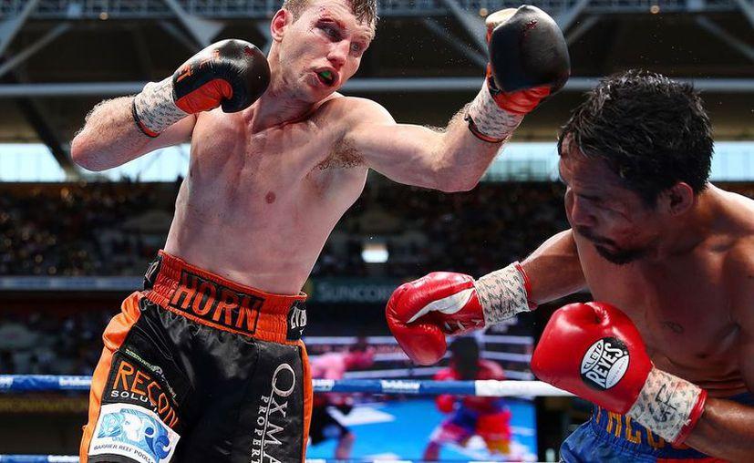 El filipino cayó por polémica decisión unánime ante Jeff Horn. (Chris Hyde/Getty Images)