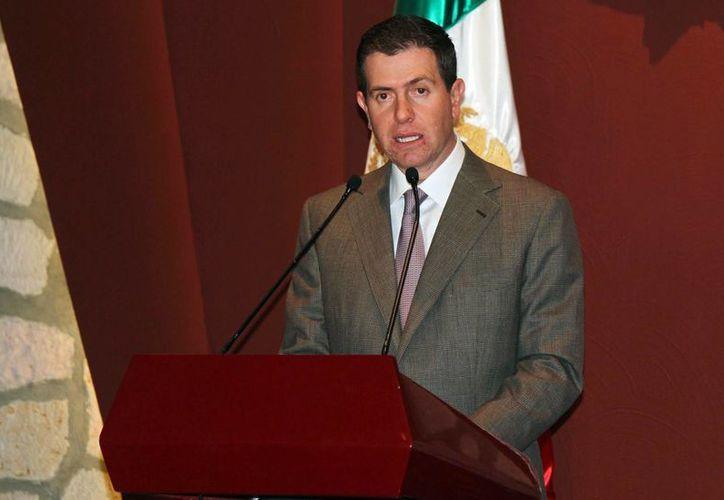 Alfredo Castillo aseguró que Michoacán es el cuarto estado que registró mayo crecimiento en 2014. (Archivo/Notimex)