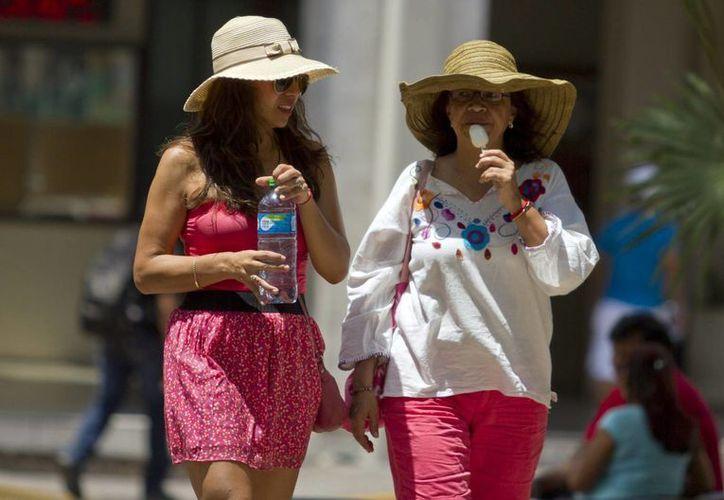 Aconsejan a la población usar bloqueador solar, ropa ligera de algodón. (Archivo/Notimex)