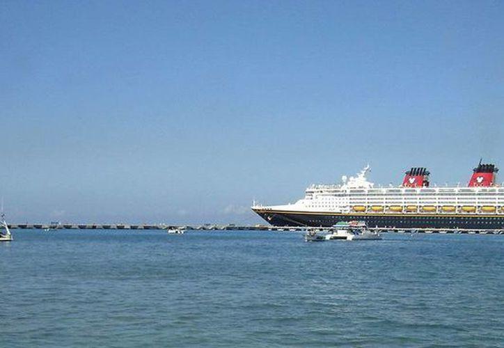 Continúa la buena temporada de actividad de cruceros en este año. (Cortesía/SIPSE)