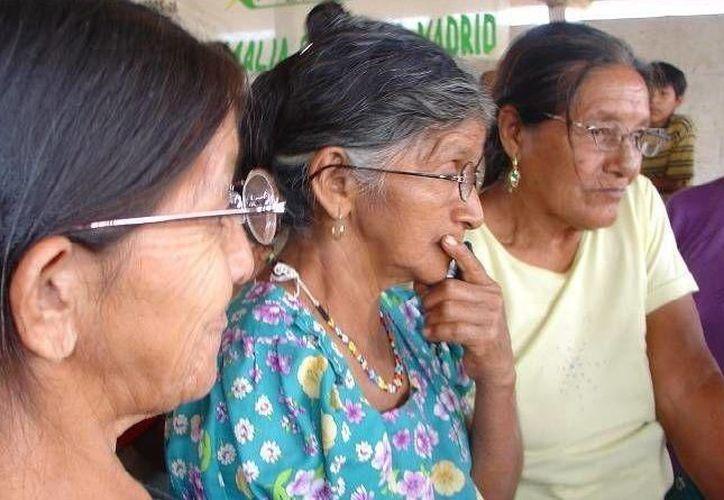 La presidenta municipal de Puerto Morelos, Laura Fernández Piña reconoció a todas las mujeres del municipio en su día. (SIPSE)