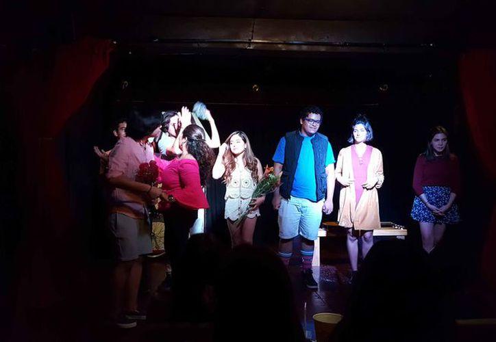En la obra teatral participan talentosos jóvenes. (Jocelyn Díaz/SIPSE)