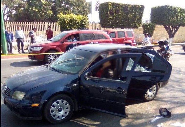 Un ataque a balazos dejó tres personas muertas en el municipio de Jiutepec. (Foto: David Monroy)