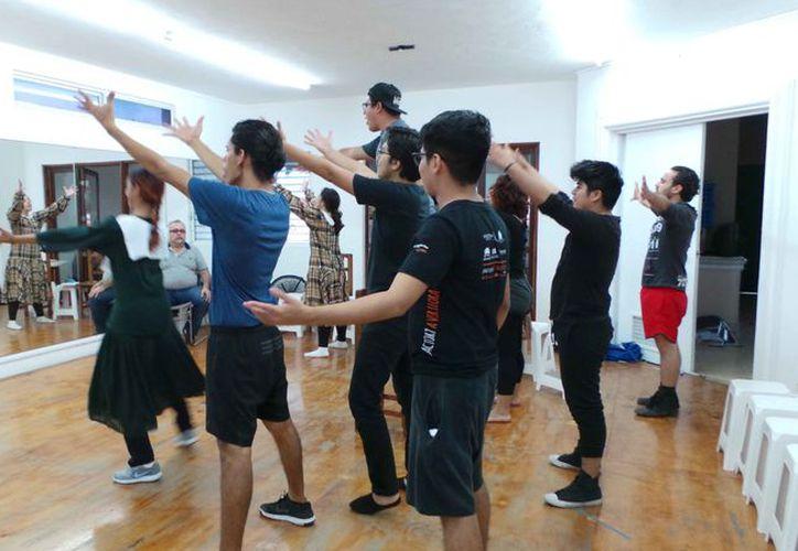 En el montaje del musical participarán 16 actores en escena. (Jocelyn Díaz/SIPSE)