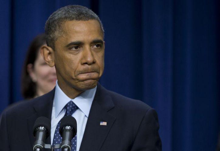 Obama dijo anteriormente que veía cercano un acuerdo entre Senado y la Cámara de Representantes. (Agencias)