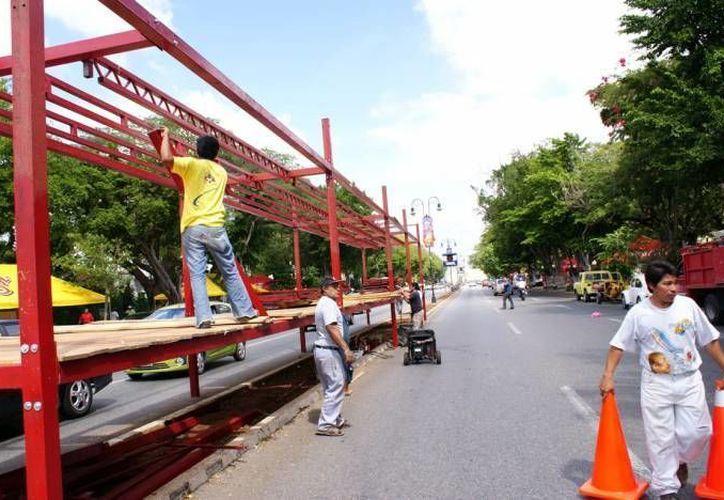 El Paseo de Montejo será sede del Carnaval una vez más. (SIPSE/Archivo)