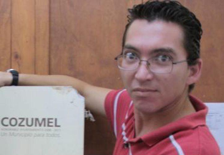 juan José Ortegón Campos solicitó licencia por seis meses. (Julián Miranda/SIPSE)