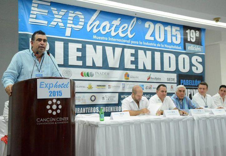 En la inauguración se dio la bienvenida al evento. (Victoria González/SIPSE)