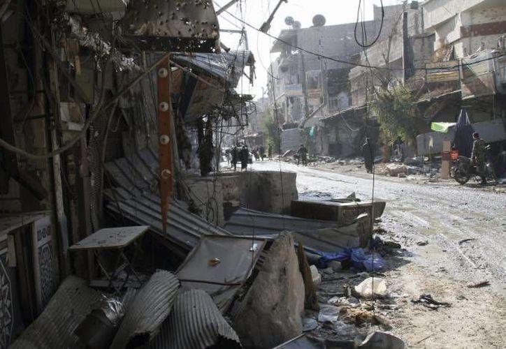 Los ataques terroristas en Siria han dejado decenas de miles de muertos a lo largo de varios meses. (EFE/Archivo)