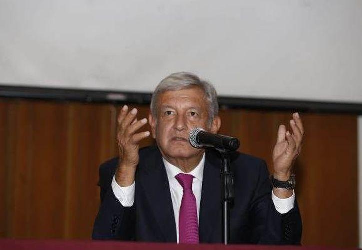 AMLO comentó que se quitarán las pensiones a los ex presidentes. (Milenio.com)
