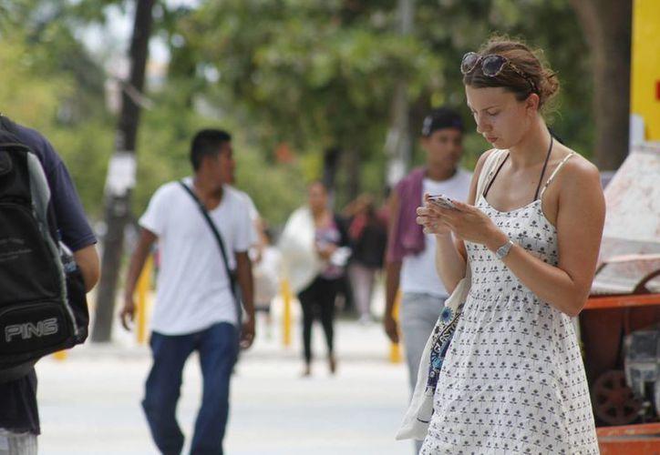 Cada día se registra un promedio de 100 nuevos usuario. (Sergio Orozco/SIPSE)