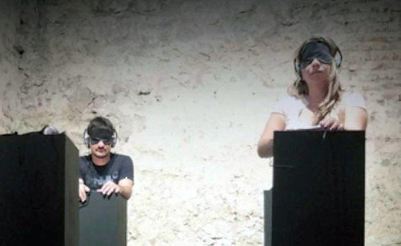 La exposición sonora 'Memorial de Voces' está a cargo de la periodista francesa Christine Renaudat. (Milenio Novedades)