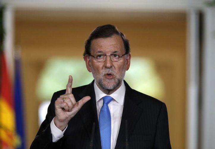 El jefe del gobierno de España, Mariano Rajoy, refrendó la estrecha relación de su país con México. (Archivo/The Associated Press)