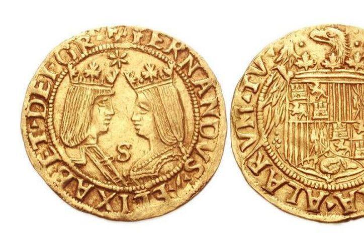 La muestra incluirá ejemplares con los rostros de los Reyes Católicos, Fernando de Aragón e Isabel de Castilla. (Imagen de referencia/rtve.es)