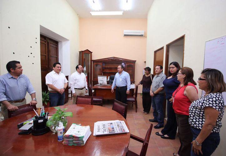 Los funcionarios públicos tomaron posesión este martes. (Cortesía/ DGCS)