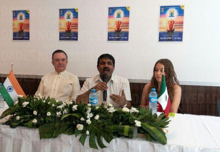 Playa Delfines será la sede de la celebración del Día Mundial del Yoga. (Juan Pablo Limón/ SIPSE)
