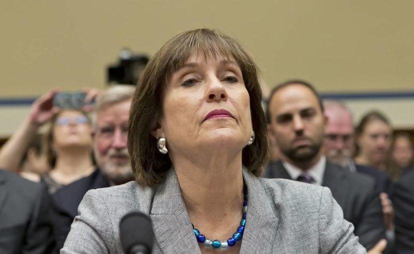 """Lois Lerner dijo que """"no violé ley alguna. No violé norma o regulación alguna del IRS y no facilité información falsa a esta o a cualquier otra comisión"""". (Agencias)"""