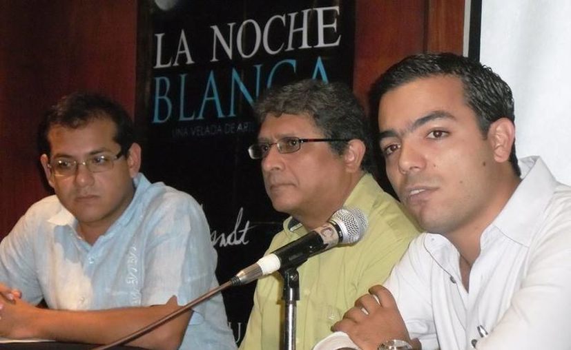 La Noche Blanca puede ser un proyecto permanente, aseguraron funcionarios durante la presentación del evento. (Cortesía)