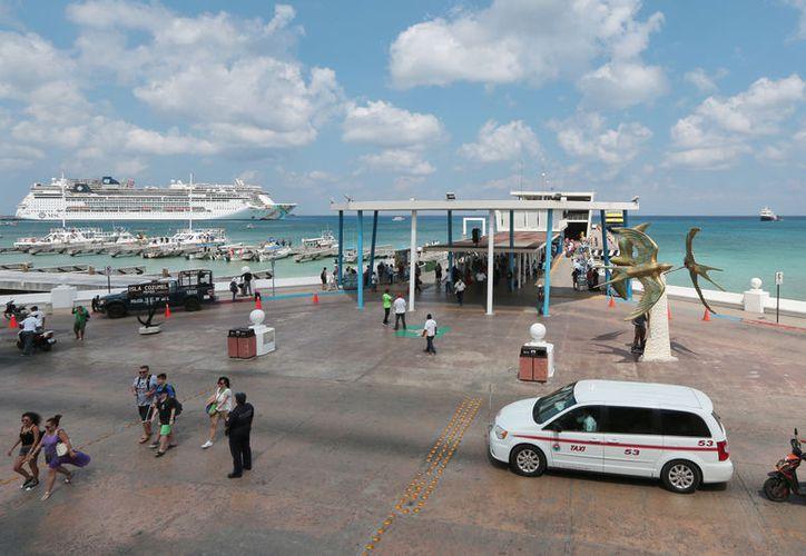 La industria de cruceros prevé incrementar hasta en un 10 por ciento sus llegadas a los puertos mexicanos en 2019. (Gustavo Villegas)