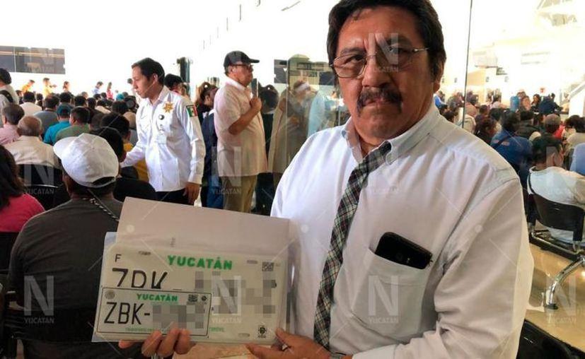 El Gobierno del Estado pospuso el proceso de reemplacamiento vehicular de este año debido a la pandemia. (Novedades Yucatán)
