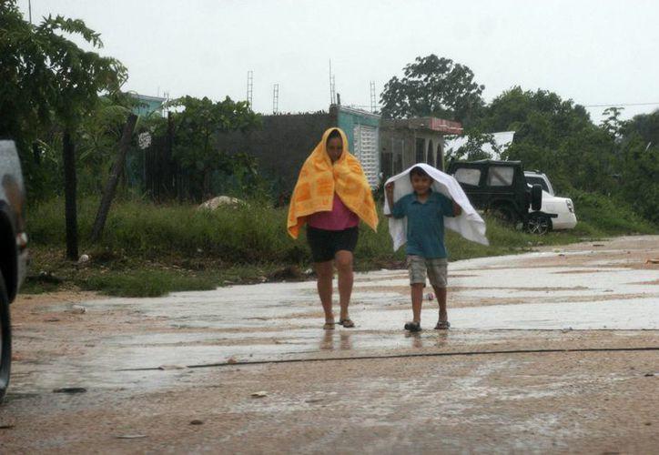 De continuar las lluvias, estas se presentarían en chubascos aislados. (Harold Alcocer/SIPSE)