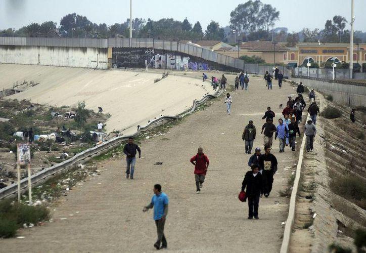 Entre los migrantes habían siete menores de edad. (Archivo/Notimex)